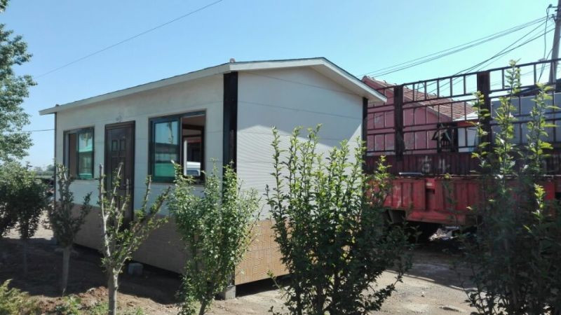 manufacturer plans house container