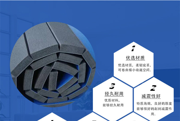 Hot selling roll up puzzle mat