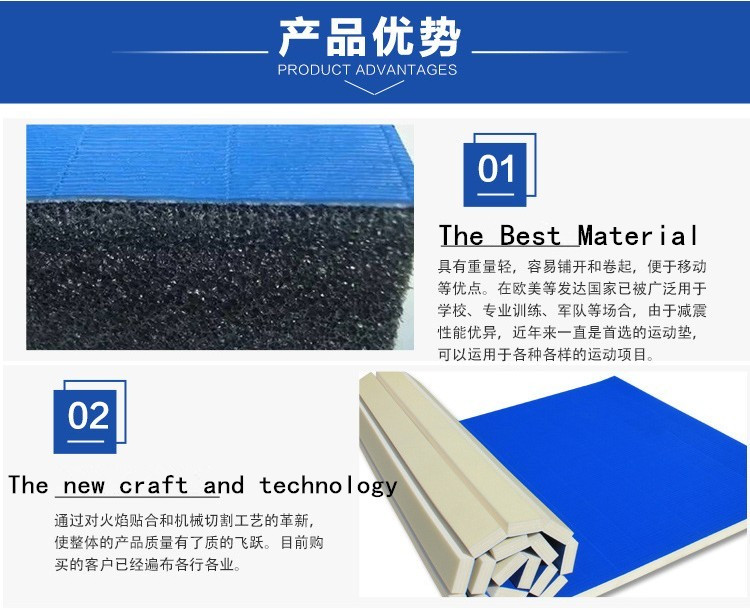 China rubber mat roll