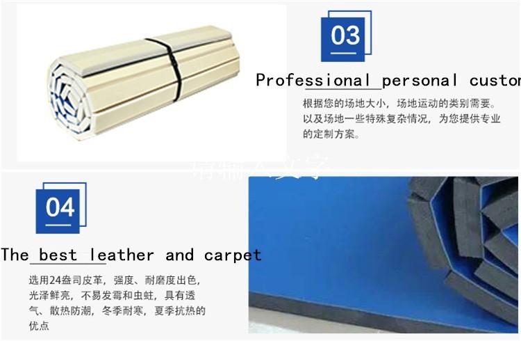 Professional gymnastics mat