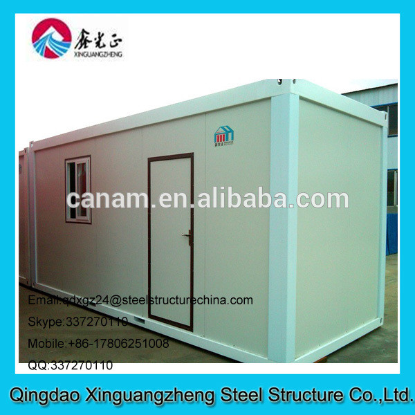 Military shelters made from shipping container house