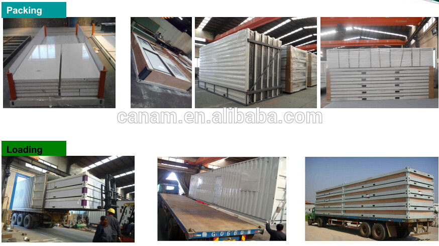 Prefabricated steel modified container house