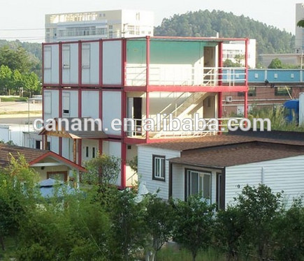 economic refugee camp steel structure modular shipping container house