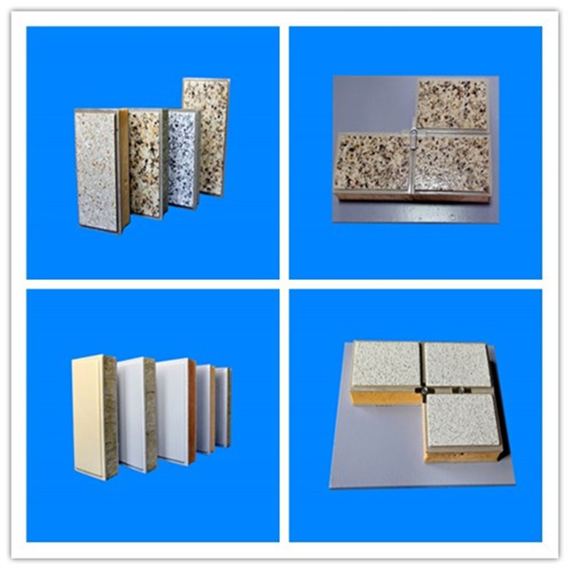 Europe style pu sandwich panel line with ISO 9001