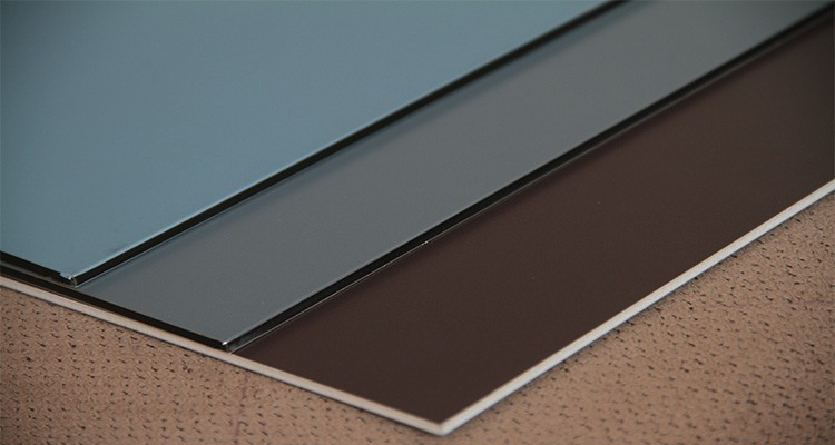 The fastest delivery time mirror brushed aluminum composite material uv digital printing signage aluminum composite panel