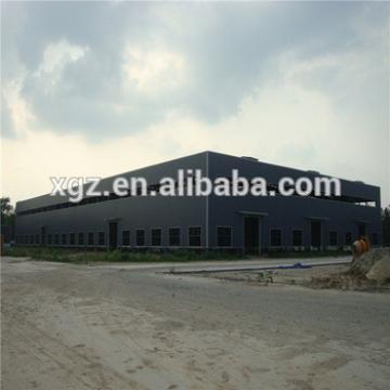Low cost light steel prefabricated warehouse size