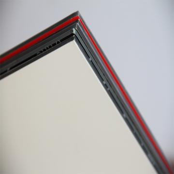 ISO standard pe and pvdf coated aluminium composite panel price
