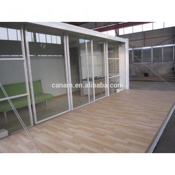 fire proof prefabricated portable 20ft shipping container house for oil station