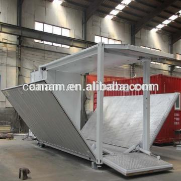 portable 40 ft modified shipping container showroom