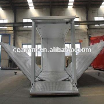modular hydralic opening system container coffee kiosk booth design