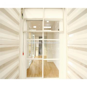 Chinese supplier 40ft Ocean Container Fashion Home With Wood Wall Sandwich Panel Inside