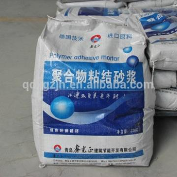 Thermal insulation bonding mortar