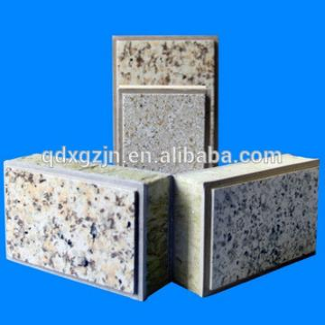 Chinese new product insulation integration bord external wall finish material