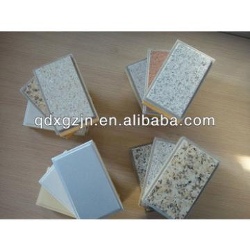 External Wall Insulation one panel