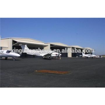 large span fast install steel structure aircraft hangar