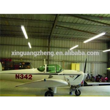 bolted connection light weight prefab steel aircraft hangar