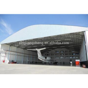 prefabricated building steel structure modern design aircraft steel hangar