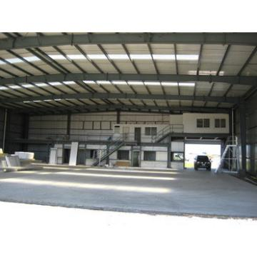 Prefabricated Steel Frame Structure Aircraft Hangar