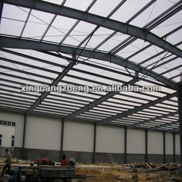 structural steel hangar building