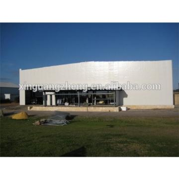 insulated rigid steel construction steel structure hangar