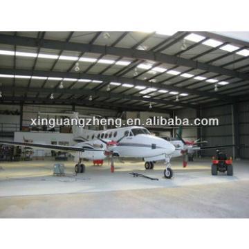 prefabricated light steel structure hangar construction