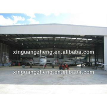 light wide span steel sandwich panel hangar construction design