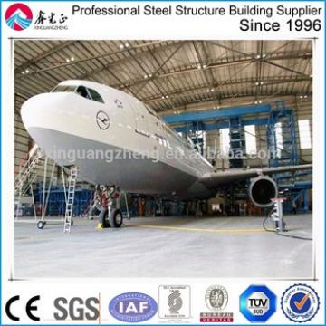 prefabricated building steel structure airplane hangar large