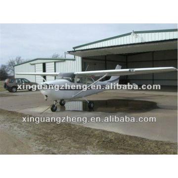 Prefab steel structure modern modular cheap aircraft hangar