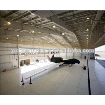 prefabricated modern deisgn steel structure aviation hangar