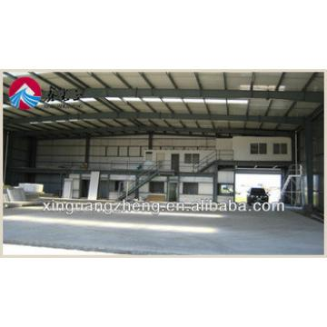 light wide span steel sandwich panel hangar construction design