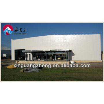 prefabricated light steel structure airplane hangar