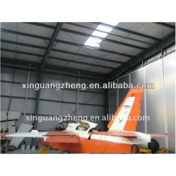 Steel metal manufacture airplane hangar China