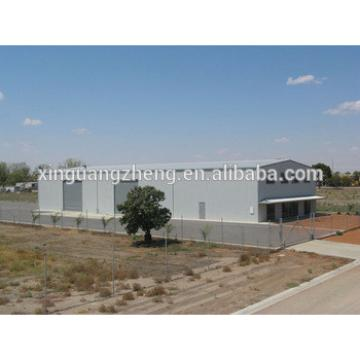 prefab steel structure small hangar, finished warehouses