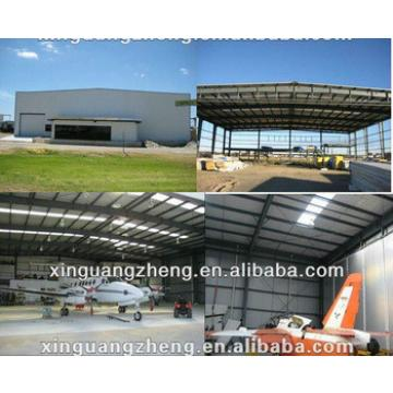 light steel structure aircraft hangar with strong seismic and wind resistance