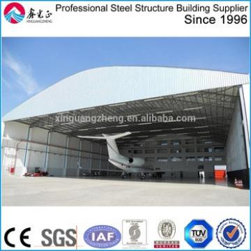 prefabricated large span construction building hangar arch building construction