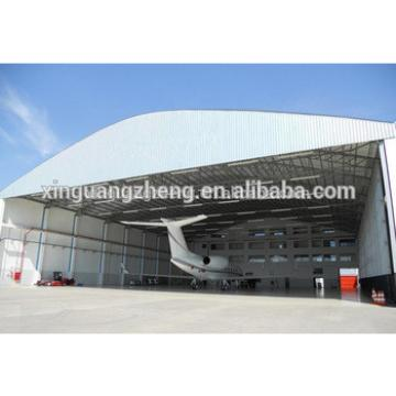 large span steel structure military hangar