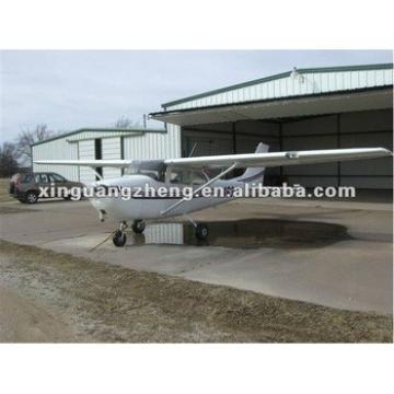 mobile prefab steel structure aircraft hangar