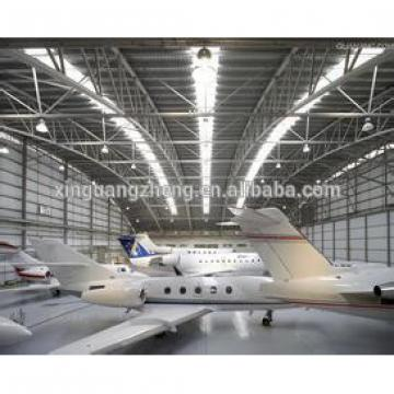 prefabriqued smal steel structure hangar garage
