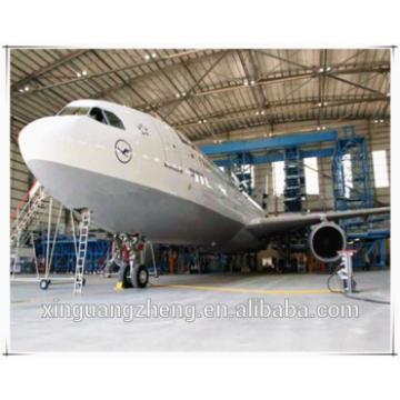 professional hangar door equiped steel structure hangar shed