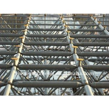 Construction glass wool sandwich panel steel structure prefabricated rock mesh warehouse/chicken house/car garage/hangar