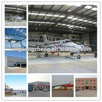 prefabricated steel aircraft hangar project for sale