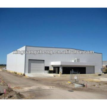ISO 9001 prefab steel structure airplane Hangar