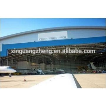 Prefab steel structure hangar with low price