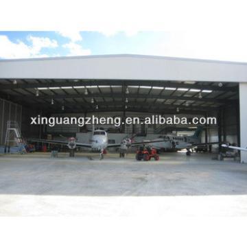 Prefabricated steel frame aircraft Hangar