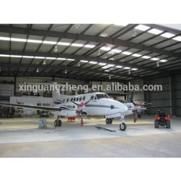 Steel Structure aircraft hangar design