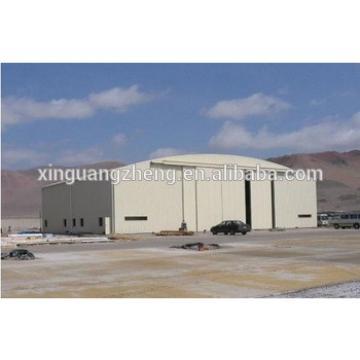 Professional design Steel Structure aircraft hangar