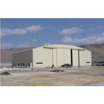 steel structure for airport building/prefabricated hangar/aircraft hangars