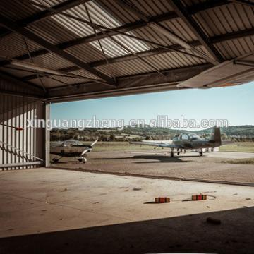 quality assured steel structural airplane hangar building