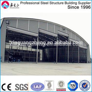 portable frameless steel structure aircraft hangar