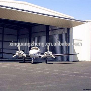 cheap well-set steel frame and PVC sandwich panel hangar